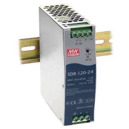MEAN WELL SDR-120-24