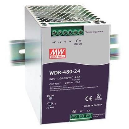 MEAN WELL WDR-480-24