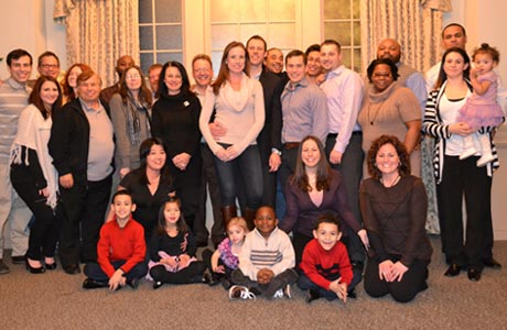 The TRC Family pictured at the 30th Anniversary celebration.